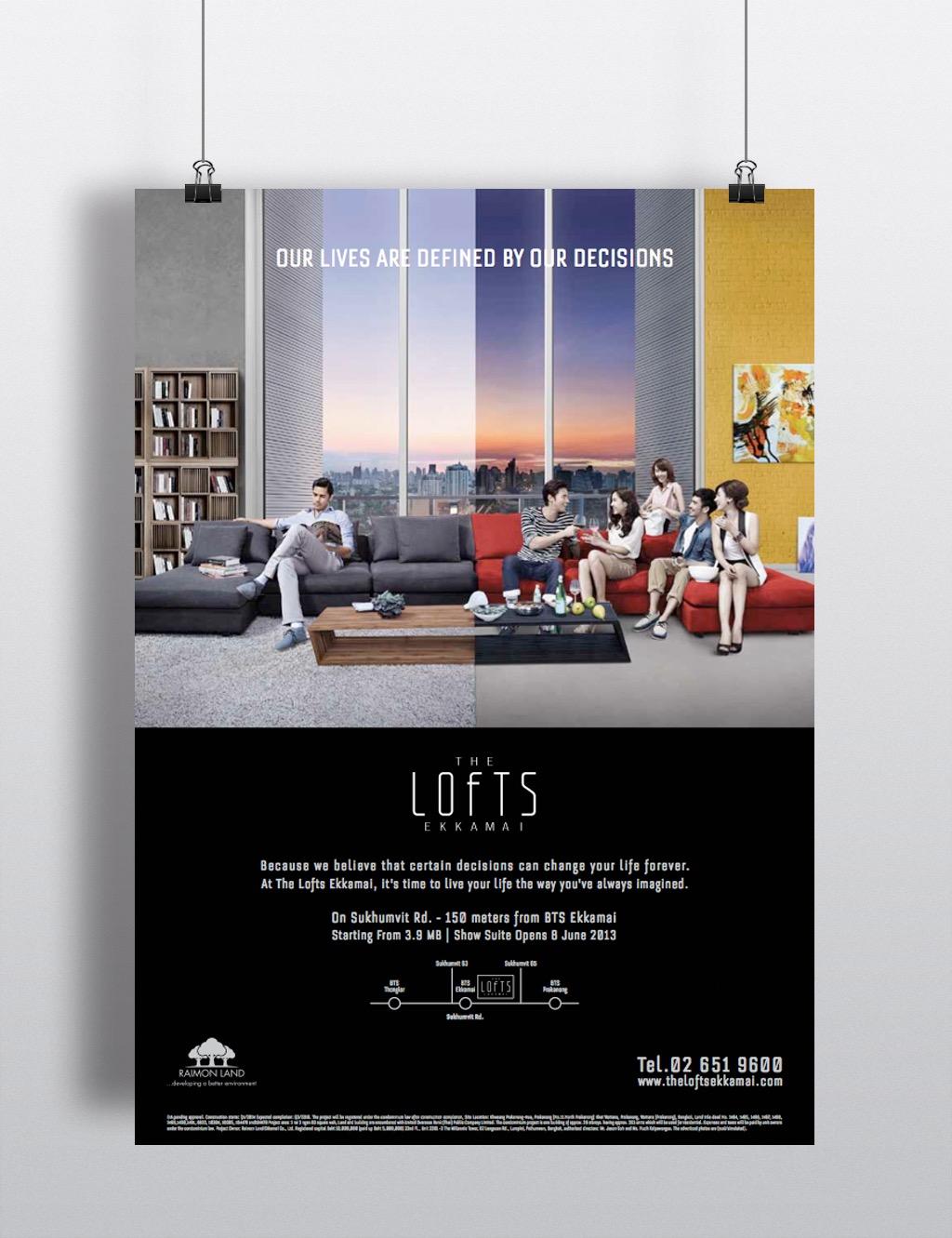 Lofts Ekkamai - conspiracy creative digital agency