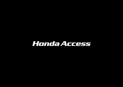 Honda Access - conspiracy creative digital agency
