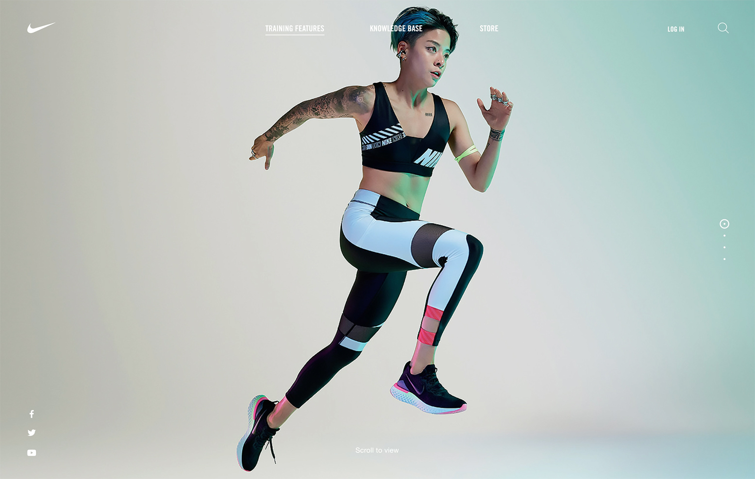 NIKE, New York Campaign - conspiracy creative digital agency