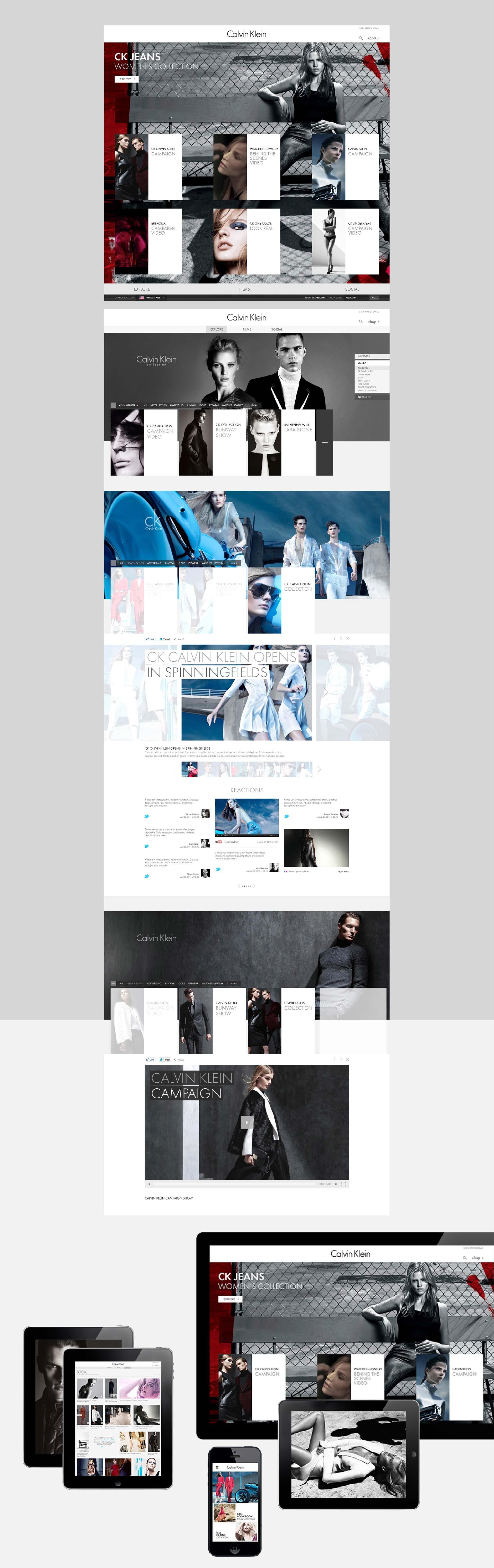 Calvin Klein - conspiracy creative digital agency