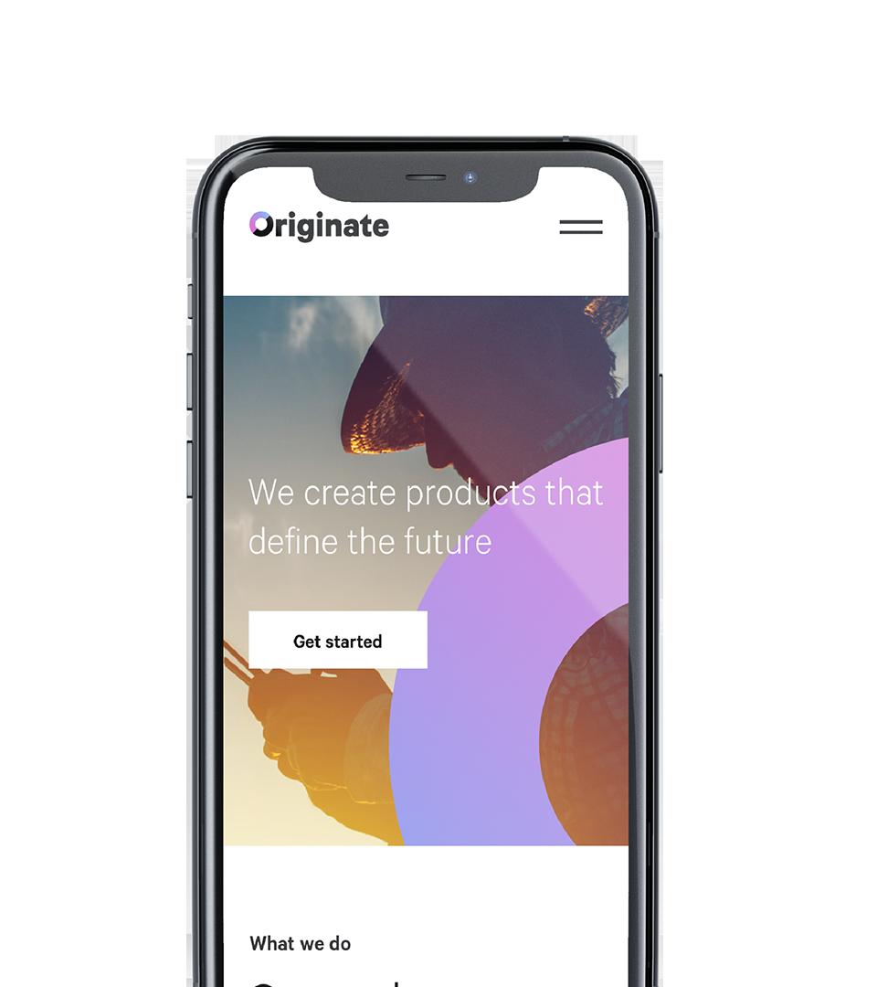 Originate - conspiracy creative digital agency