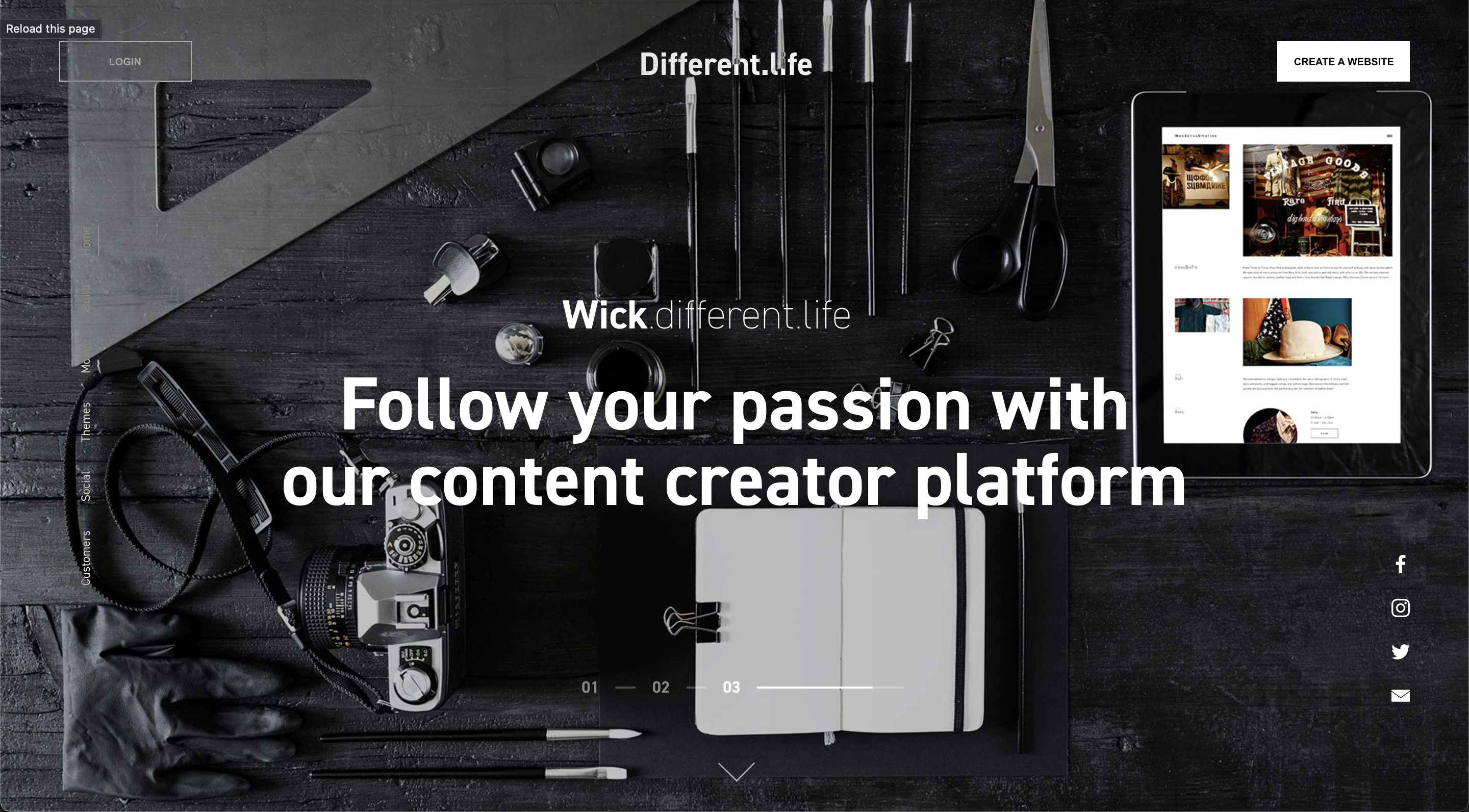 Different.life - conspiracy creative digital agency